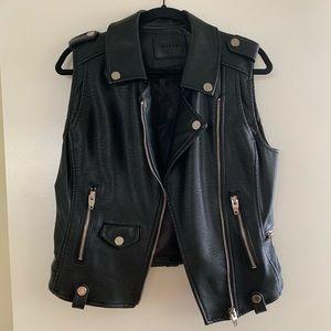 Blank NYC vegan leather vest